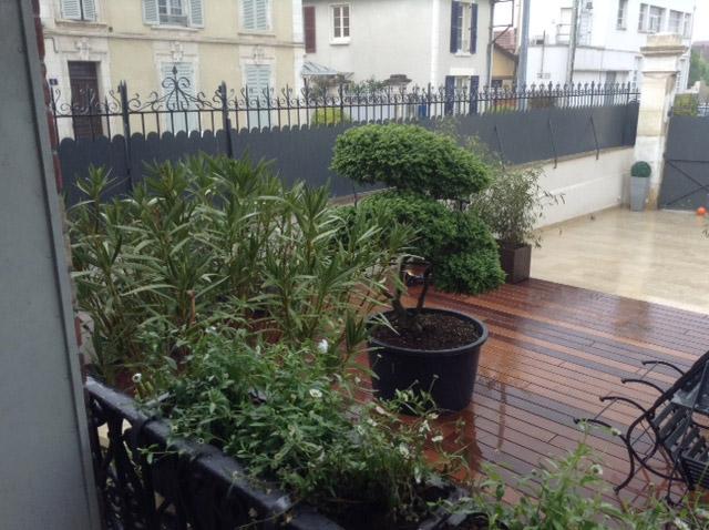 Aménagement Terrasse Bois Pour Maison De Ville Beltramelli