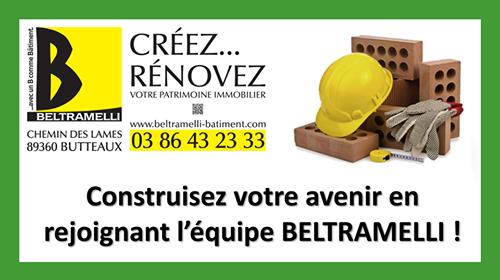 offre d'emploi maçons Yonne