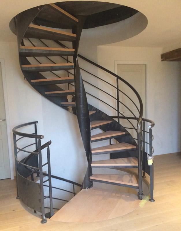 Nos Realisations Escalier Colimacon Beltramelli Batiment